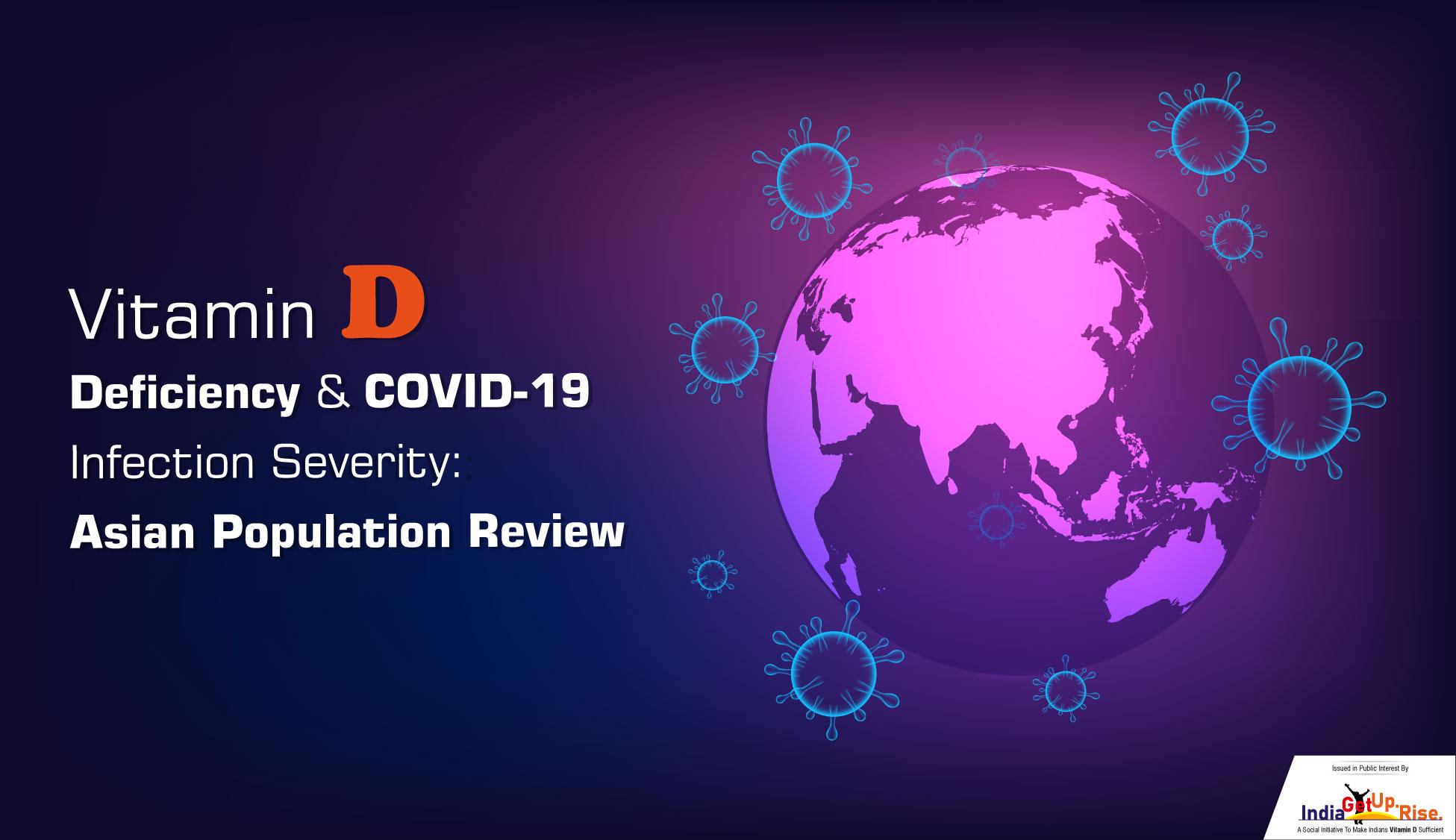 Vitamin D, COVID, Asia