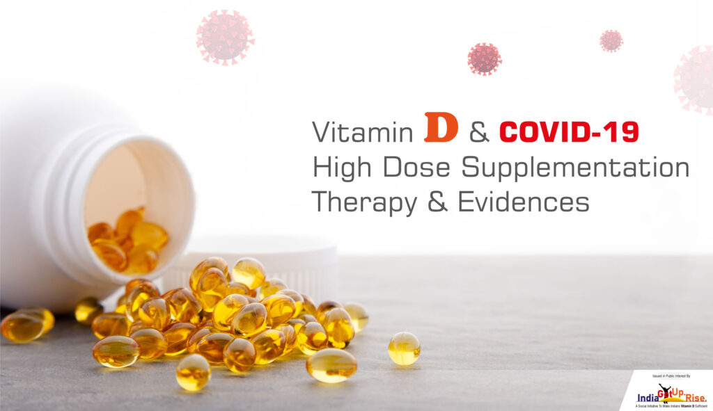 High dose of Vitamin D supplementation in COVID